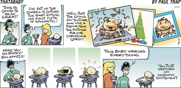 Thatababy for Dec 12, 2010 Comic Strip