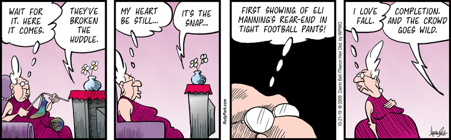 Rudy Park Comic Strip for October 21, 2019