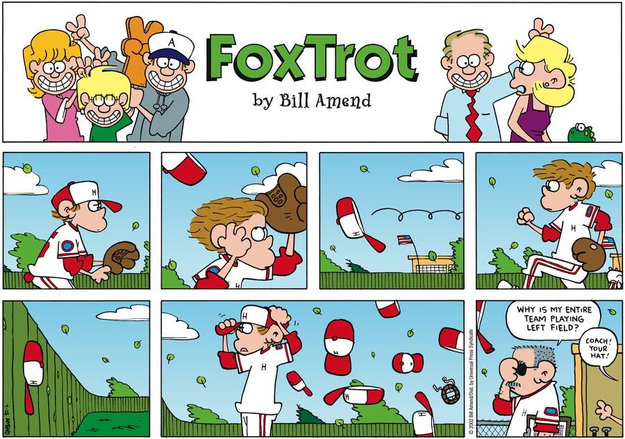FoxTrot Comic Strip for April 28, 2002
