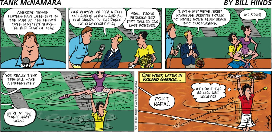 Tank McNamara for May 19, 2013 Comic Strip