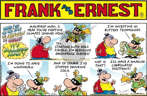 Frank and Ernest - Sunday February 23, 2020 Comic Strip