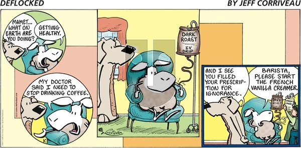 DeFlocked on Sunday December 3, 2017 Comic Strip