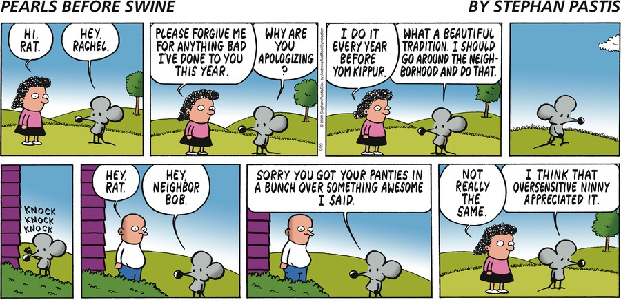 Pearls Before Swine Comic Strip for September 20, 2020