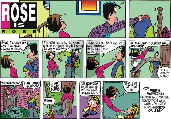 Rose is Rose on Sunday October 13, 2013 Comic Strip