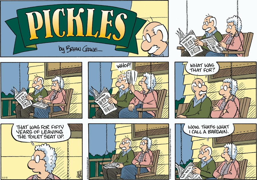 Pickles by Brian Crane for May 05, 2019