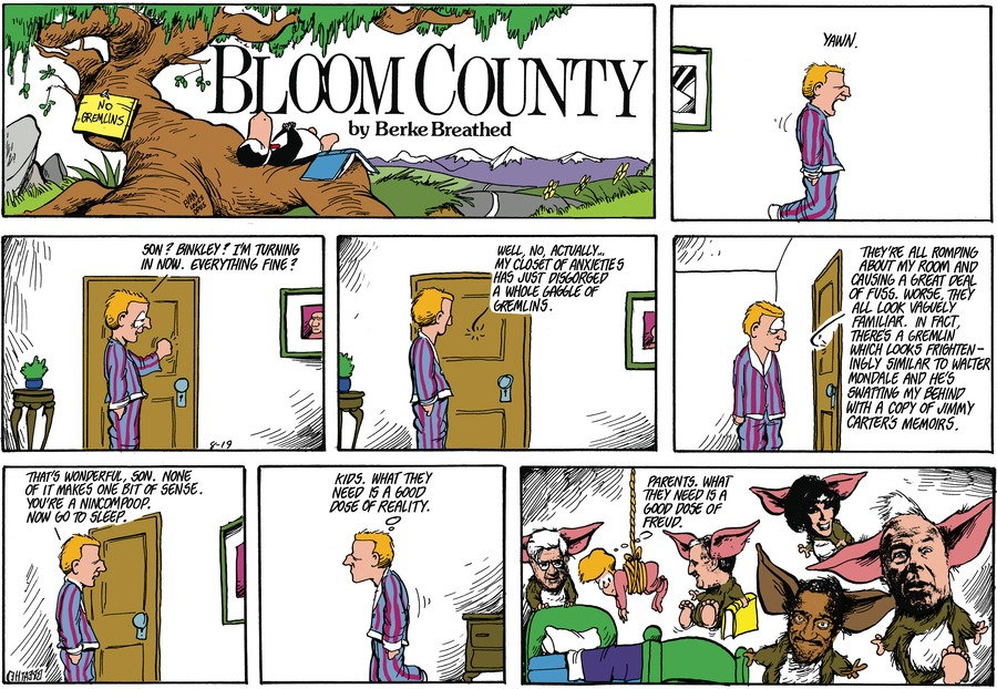 Bloom County Comic Strip for July 13, 2020