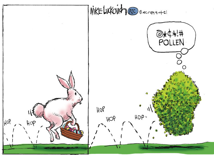 Mike Luckovich by Mike Luckovich on Sun, 04 Apr 2021