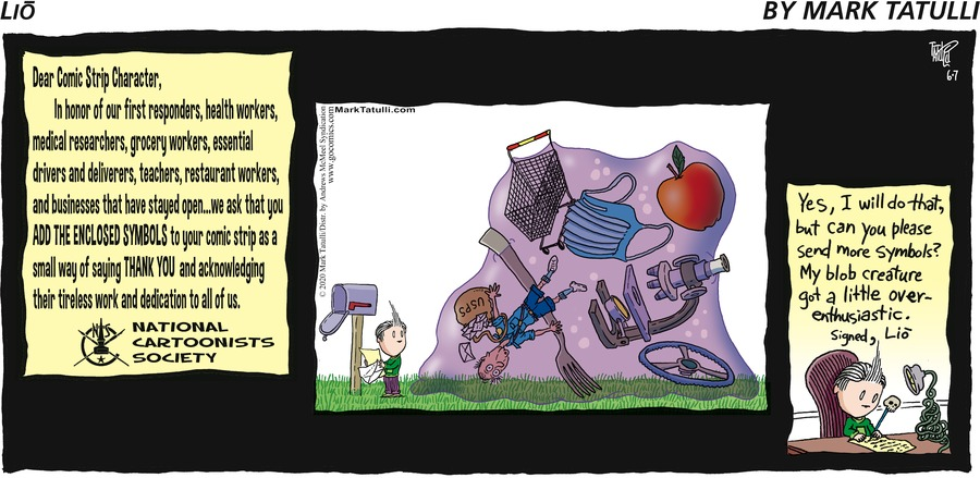 Lio Comic Strip for June 07, 2020