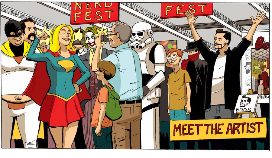 Beardo for Aug 21, 2013 Comic Strip