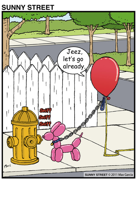 Sunny Street Comic Strip for April 24, 2013