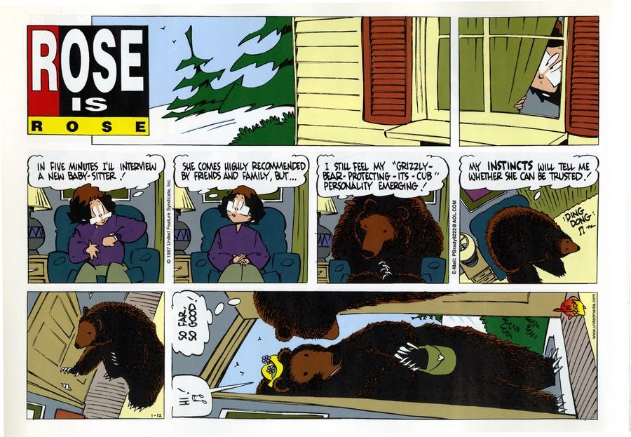 Rose is Rose for Jan 12, 1997 Comic Strip