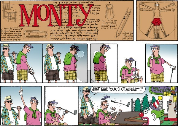 Monty on Sunday June 23, 2013 Comic Strip