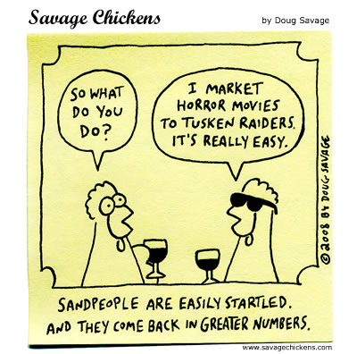 Savage Chickens for Jun 26, 2012 Comic Strip