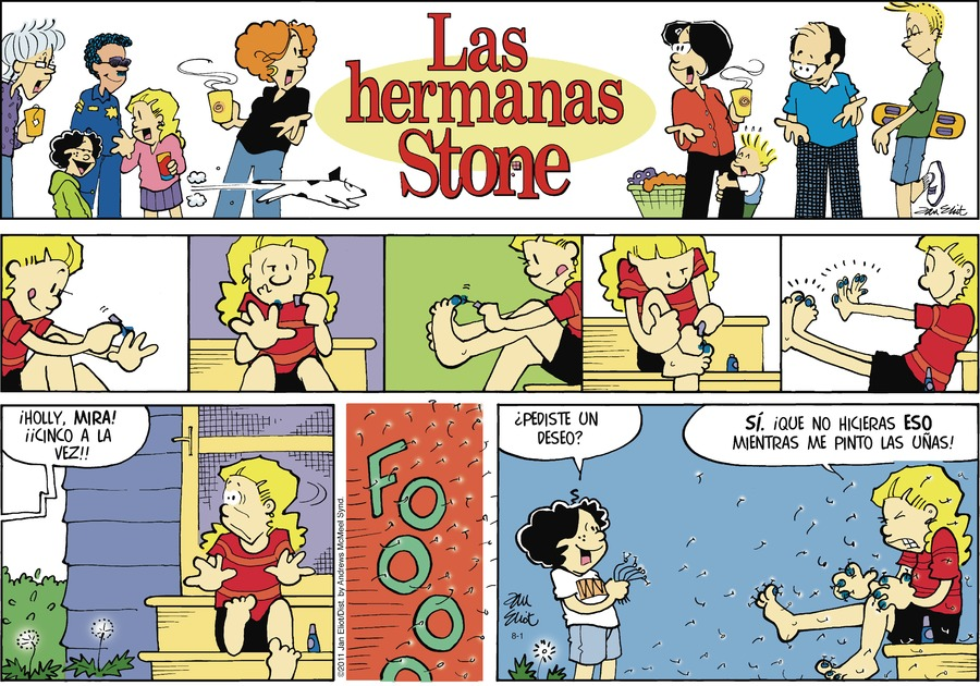 Las Hermanas Stone by Jan Eliot on Sun, 01 Aug 2021