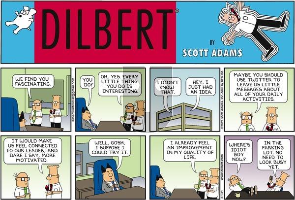 Dilbert - Sunday October 4, 2009 Comic Strip