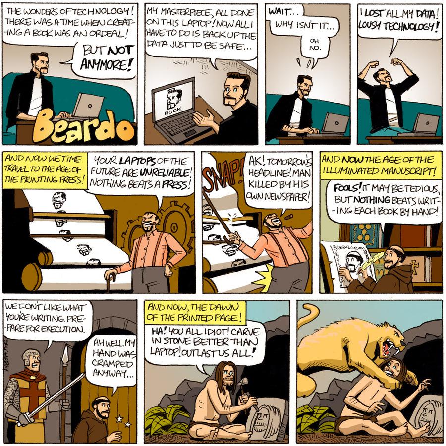 Beardo Comic Strip for November 04, 2013