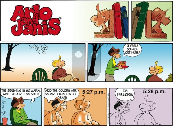 Arlo and Janis on Sunday November 29, 2020 Comic Strip