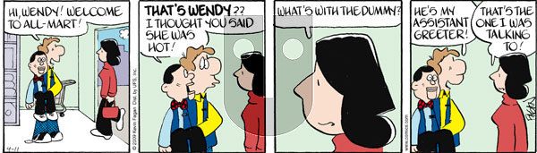 Drabble on Saturday April 11, 2009 Comic Strip