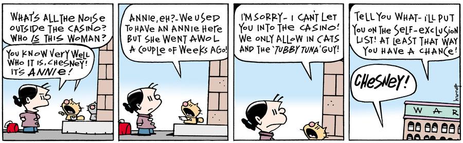 Ten Cats Comic Strip for July 18, 2018