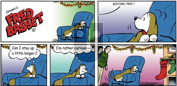 Fred Basset on Sunday December 24, 2017 Comic Strip