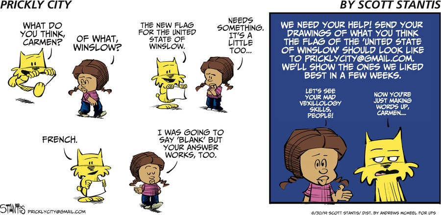 Prickly City Comic Strip for June 30, 2019