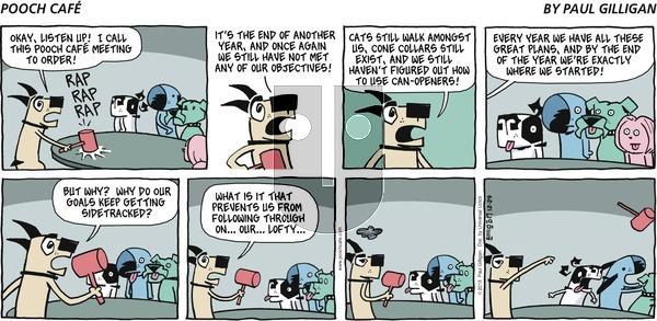 Pooch Cafe - Sunday December 29, 2013 Comic Strip