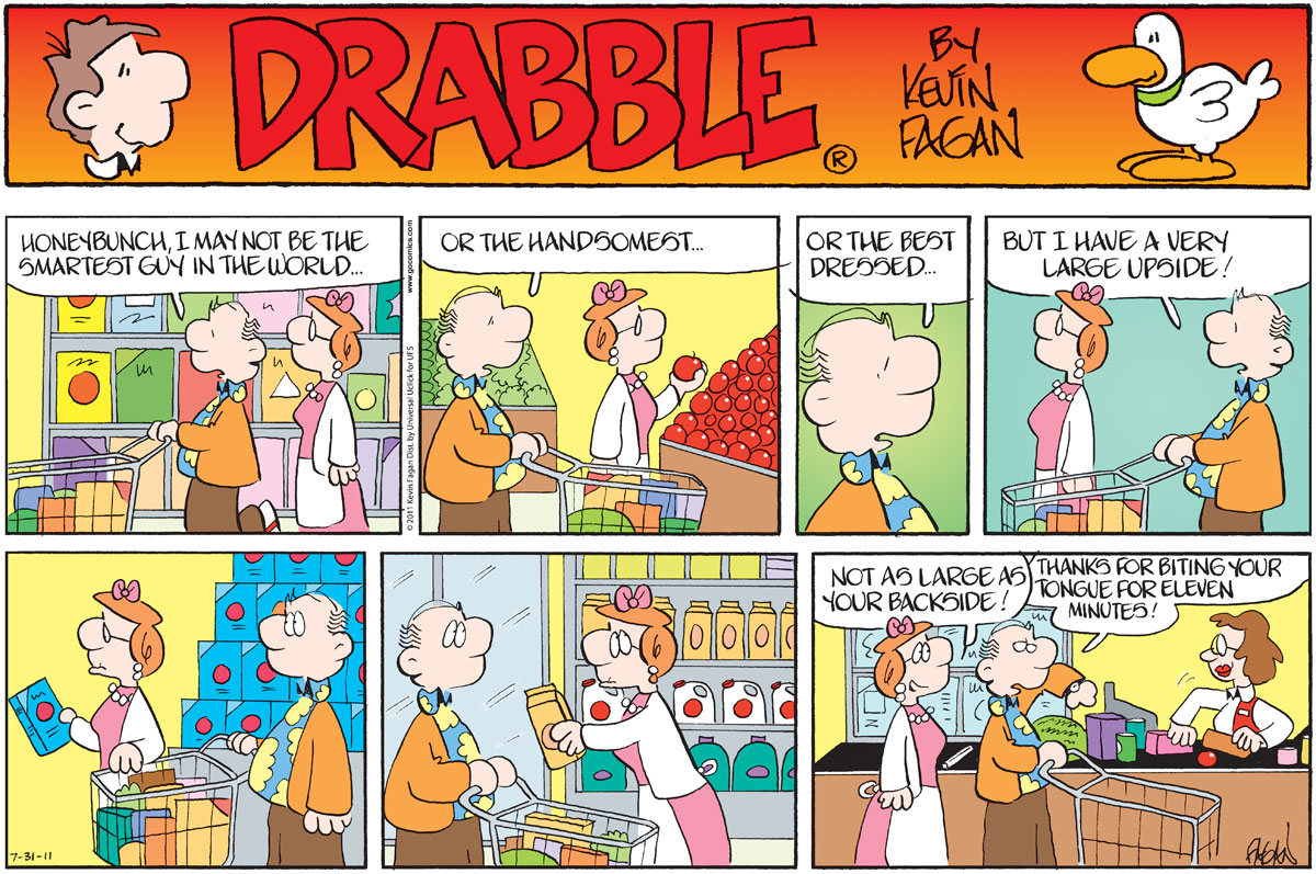 Drabble for Jul 31, 2011 Comic Strip