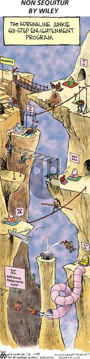 Non Sequitur on Sunday April 28, 2019 Comic Strip