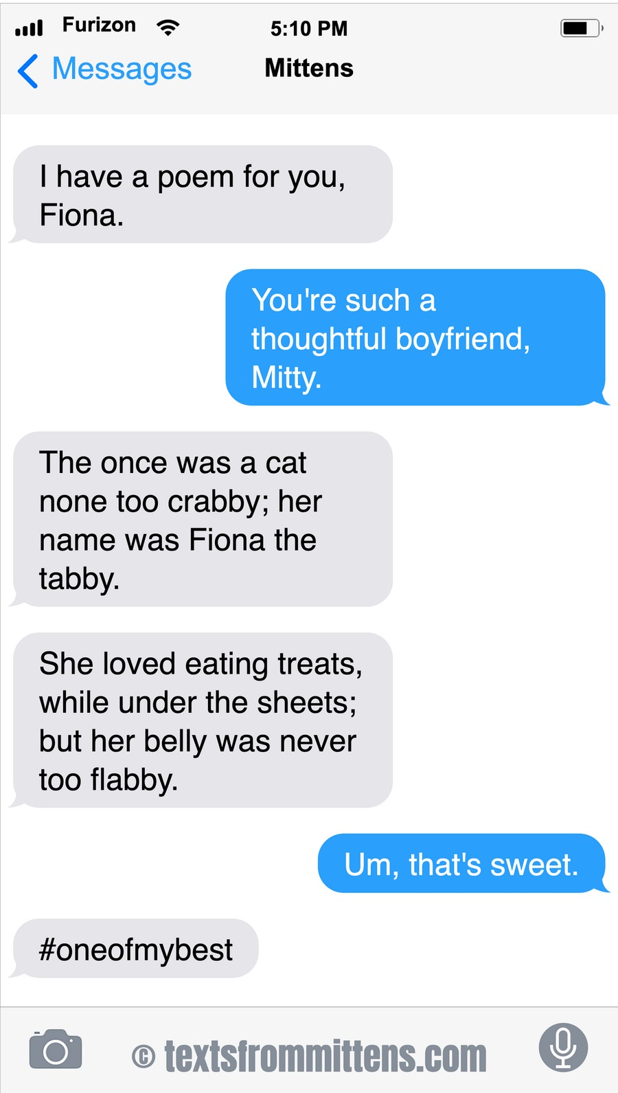Texts From Mittens by Angie Bailey on Sun, 14 Feb 2021