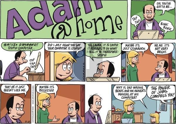 Adam@Home on Sunday August 24, 2014 Comic Strip