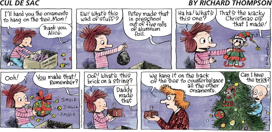 Cul de Sac for Dec 19, 2010 Comic Strip