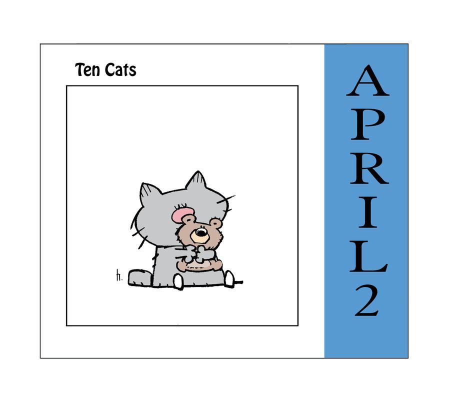 Ten Cats Comic Strip for April 02, 2021