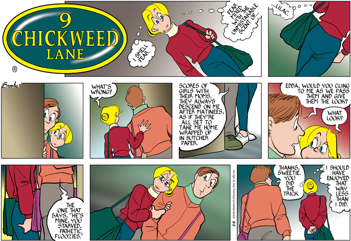9 Chickweed Lane Comic Strip for May 08, 2005