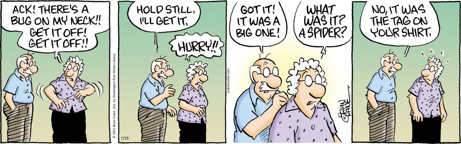 Pickles Comic Strip for July 19, 2021