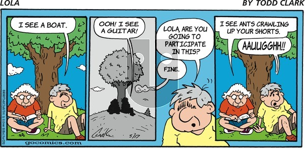 Lola on Sunday May 17, 2020 Comic Strip