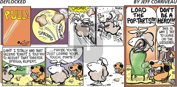 DeFlocked on Sunday March 18, 2018 Comic Strip