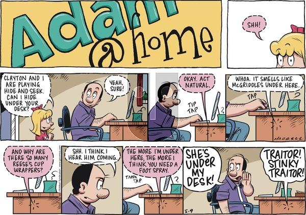 Adam@Home on Sunday May 9, 2021 Comic Strip