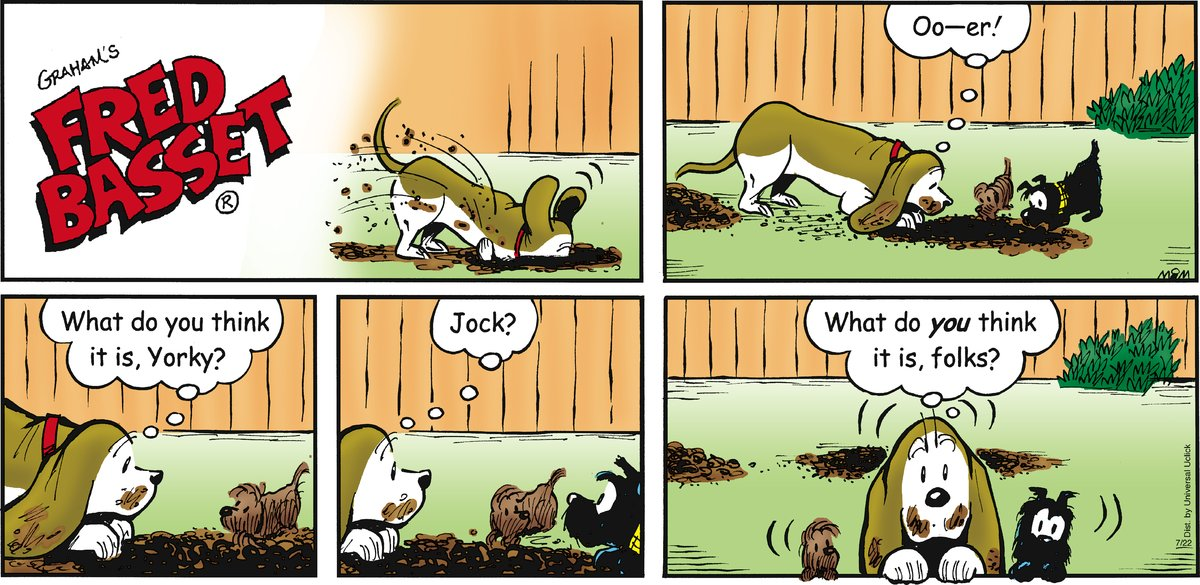 Fred Basset Comic Strip for July 22, 2012