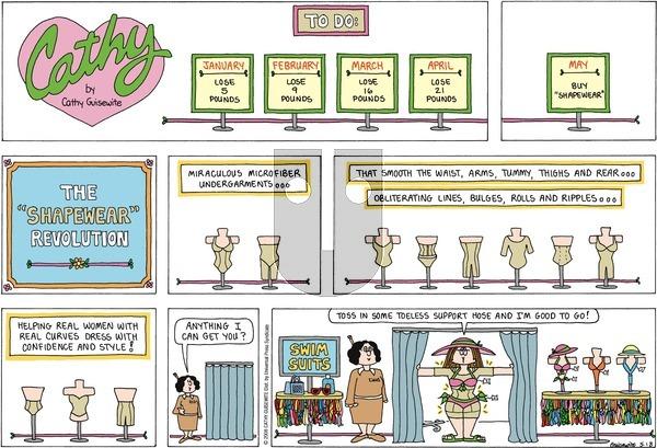 Cathy on Sunday May 18, 2008 Comic Strip