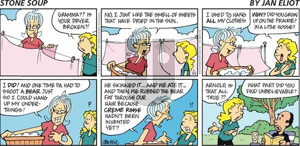 Stone Soup on July 29, 2018 Comic Strip