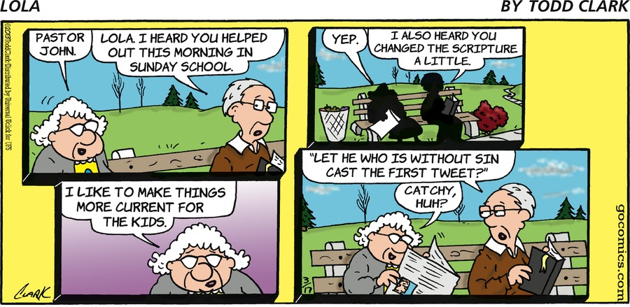 Lola for Mar 17, 2013 Comic Strip
