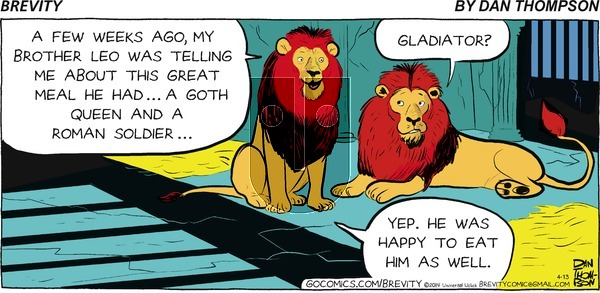 Brevity on Sunday April 13, 2014 Comic Strip