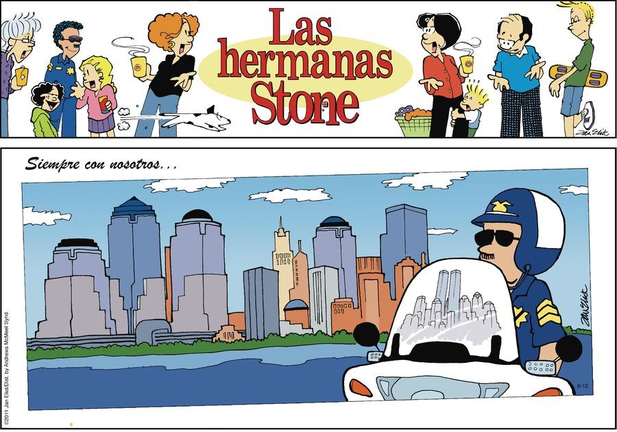 Las Hermanas Stone Comic Strip for September 12, 2021