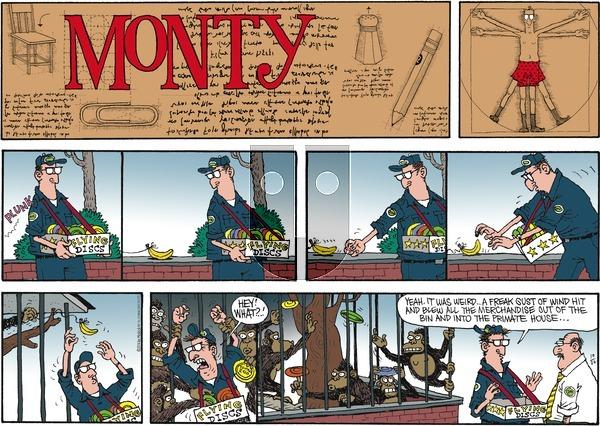 Monty on Sunday October 26, 2014 Comic Strip