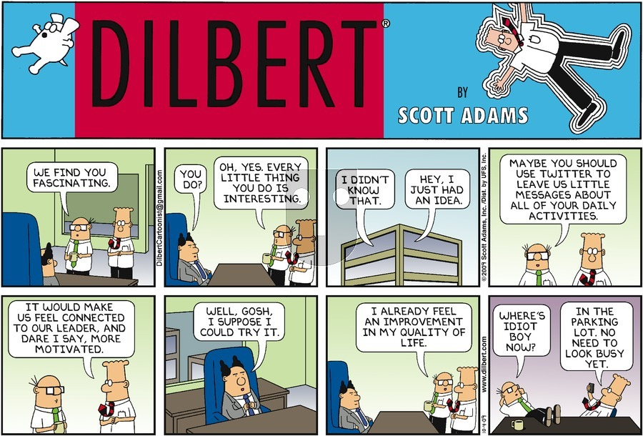 Purchase Comic Strip for 2009-10-04