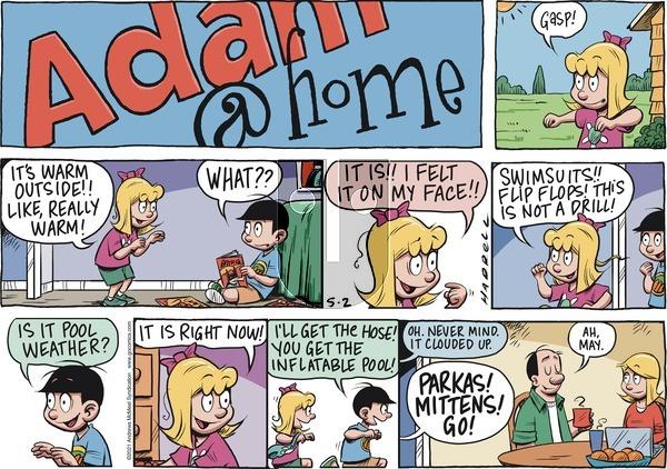 Adam@Home on Sunday May 2, 2021 Comic Strip