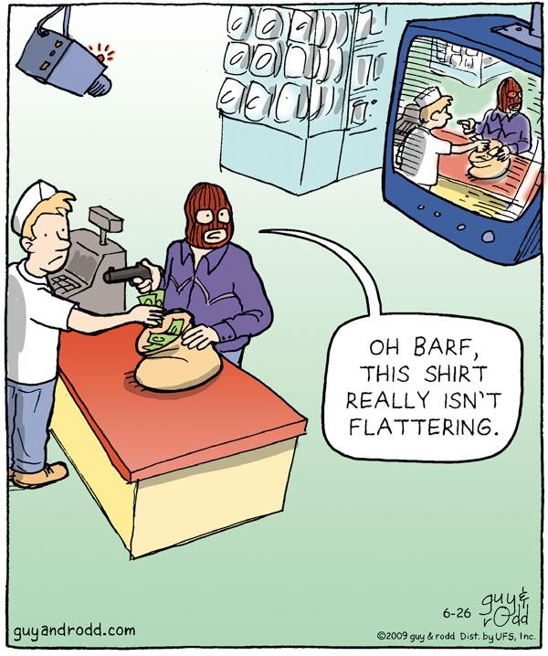 Brevity Comic Strip for June 26, 2009