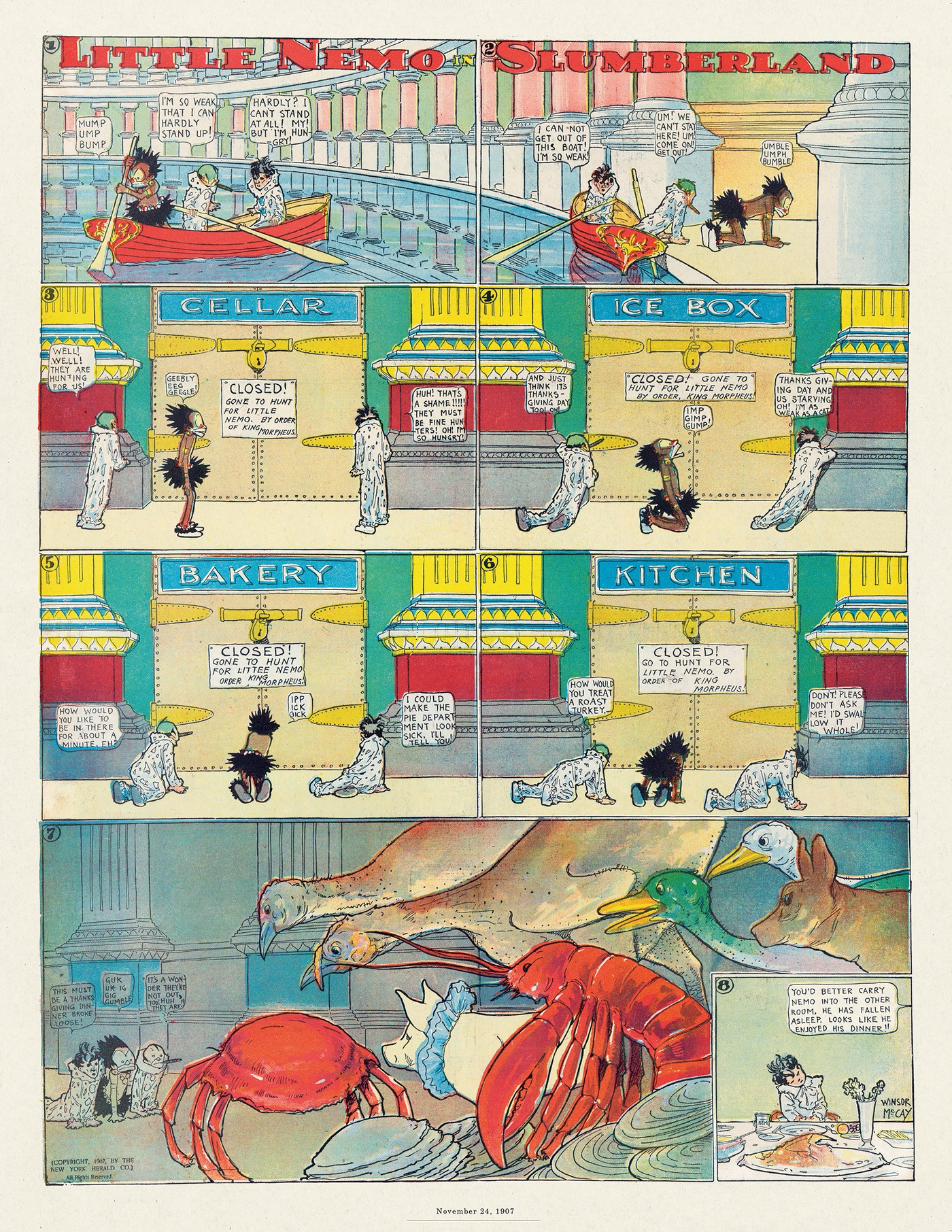 Little Nemo by Winsor McCay on Thu, 20 Aug 2020