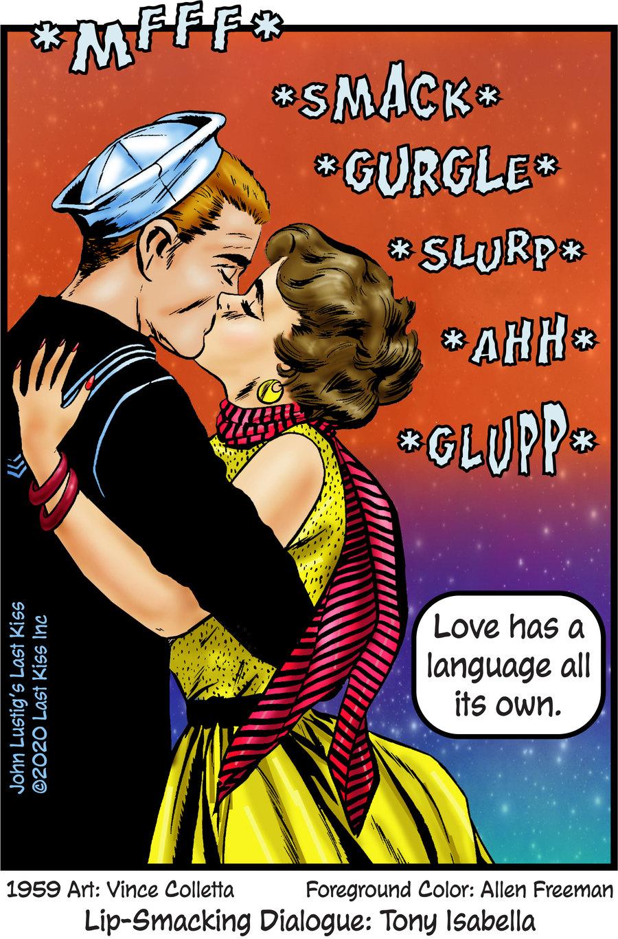 Last Kiss Comic Strip for January 11, 2021