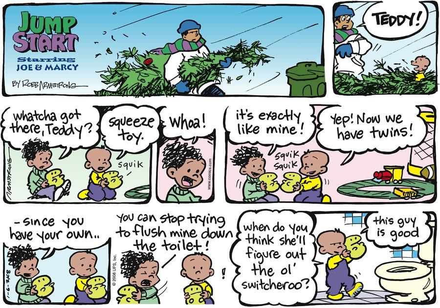 JumpStart Comic Strip for January 06, 2008